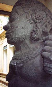 Cham Statue